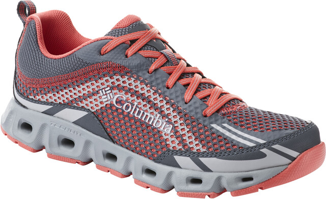 Columbia Drainmaker IV Zapatillas Mujer, graphitered coral